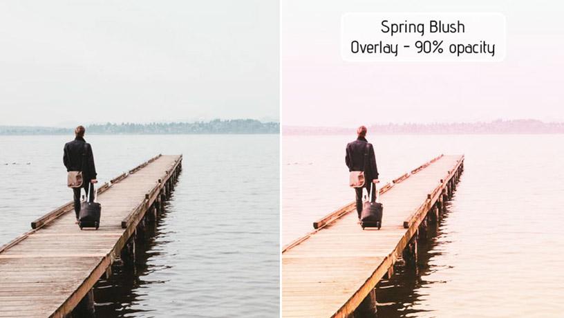Spring Gradients - Spring Blush