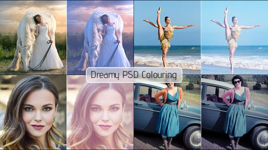 Dreamy PSD Colouring for Photoshop Free Download