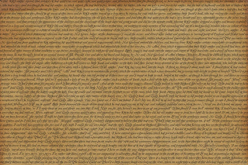 Classic Text Backgrounds -The Old Curiosity Shop