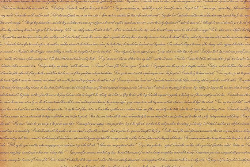 Classic Text Backgrounds - Cinderella
