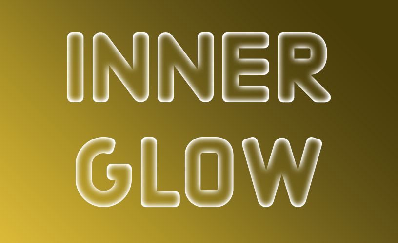 Text Styles 1 - Inner Glow