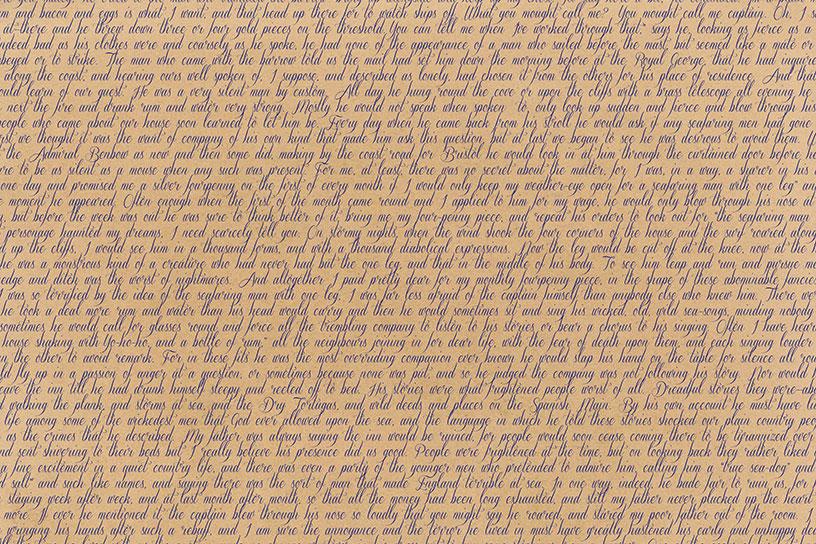 Classic Text Backgrounds - Treasure Island