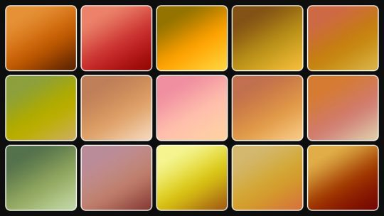 Autumn Gradients for Photoshop – Free Download