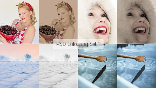 PSD Colouring Set 1 – Free Download