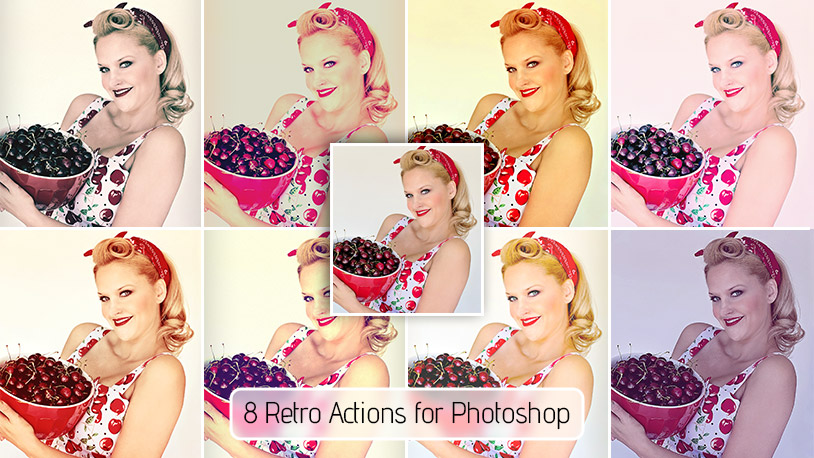 Retro Actions for Photoshop – Free Download
