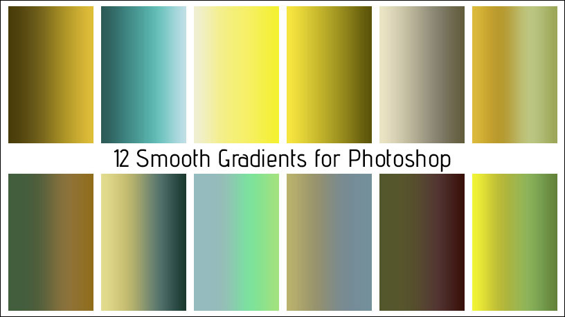 Smooth Gradients for Photoshop – Free Download