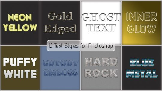 Text Styles 1 – Free Download