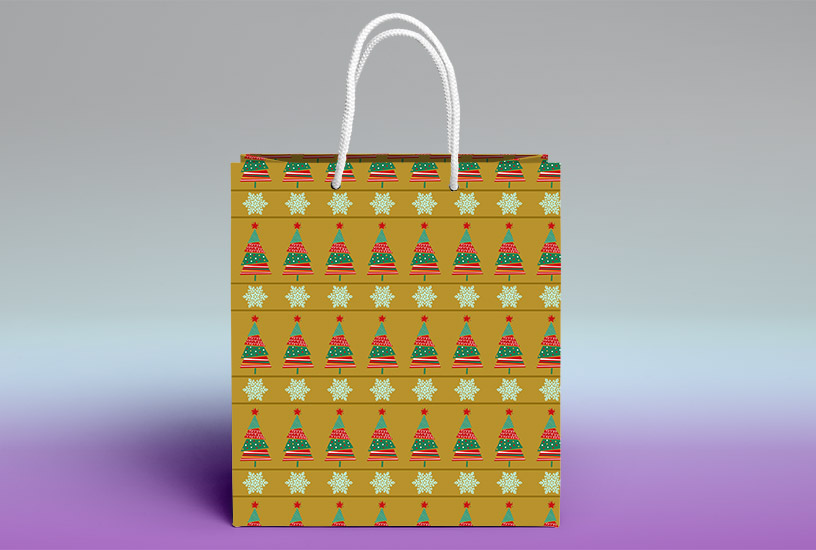 Christmas Patterns - Shopping Bag