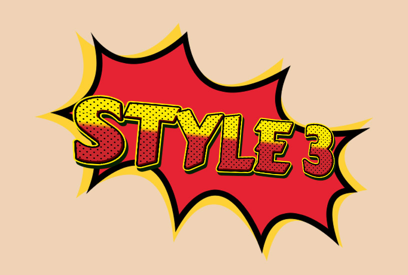 Comic Styles - Style 3