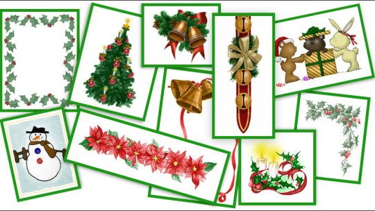 Christmas Cheer Brushes for Photoshop