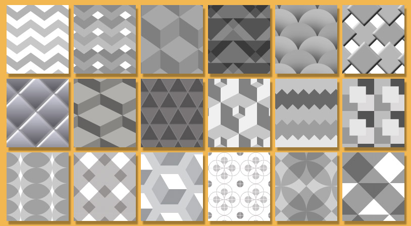 Geometric Patterns for Photoshop – Free Download