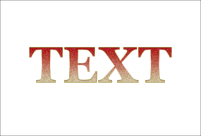 Sparkly Text Effect