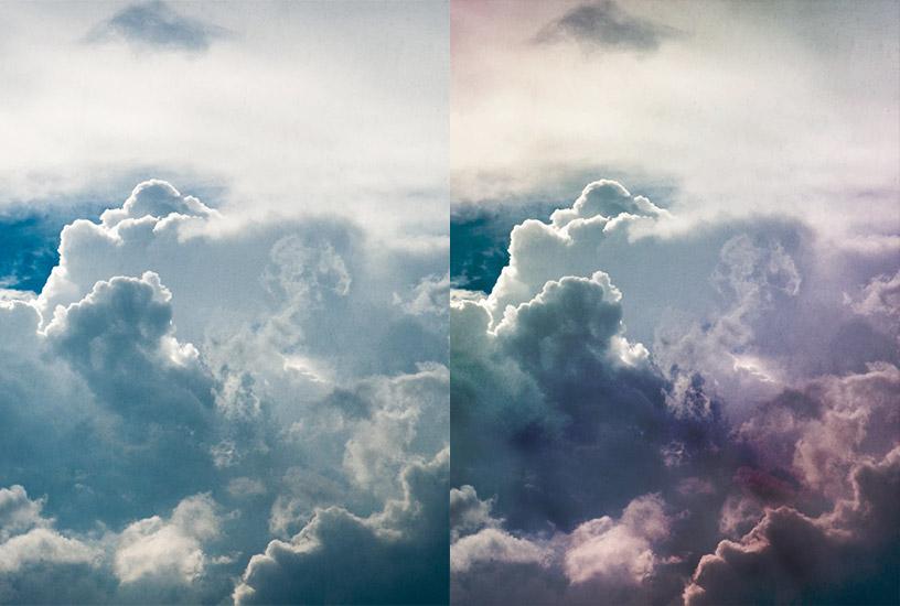Dramatic Sky PSD - PSD Colouring Set 2