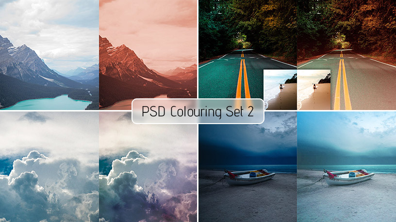 PSD Colouring Set 2 – Free Download