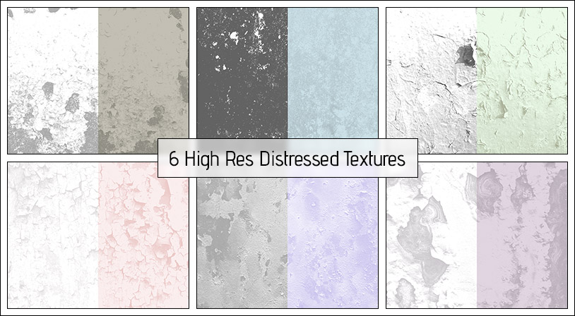 Distressed Textures – 8 High-Res Textures