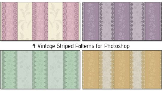 Vintage Striped Patterns – Free Download