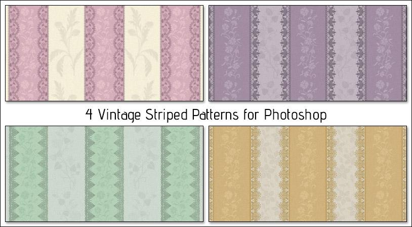 Vintage Striped Patterns – Free Download
