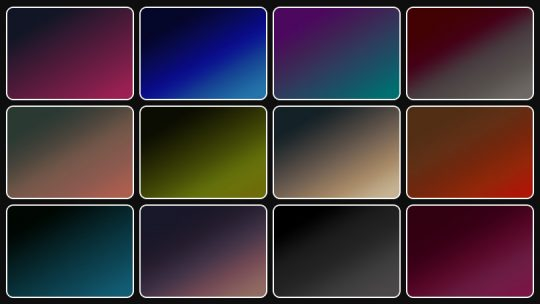 12 Dark Gradients – Free Download
