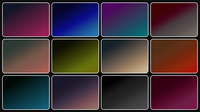 12 Dark Gradients – Free Download