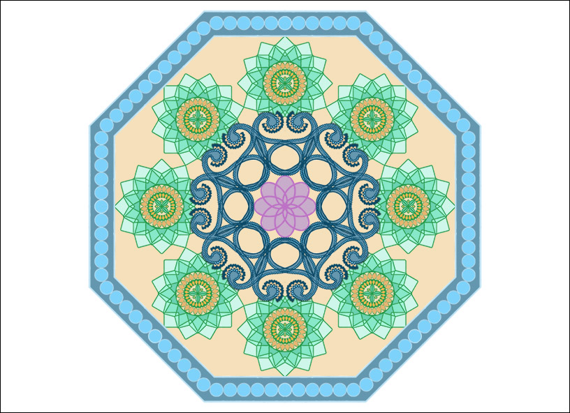 Create a Simple Mandala Example