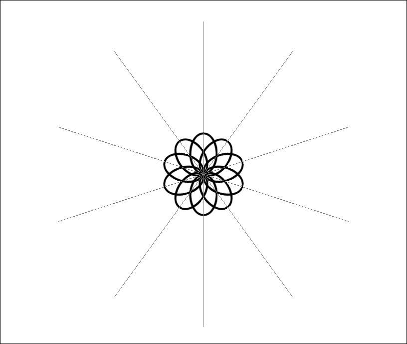 Central Flower