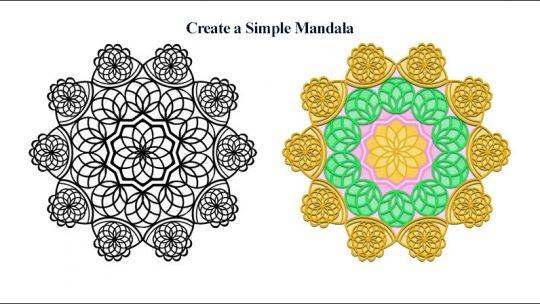 Create a Simple Mandala in Photoshop