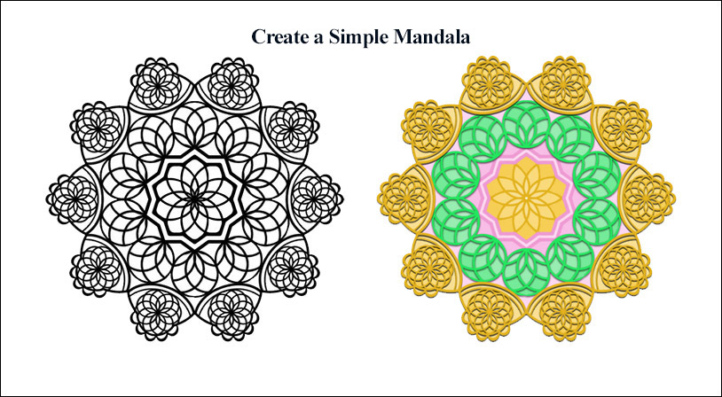 Create a Simple Mandala in Photoshop