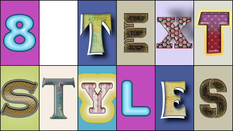 Text Styles 2 – Free Download