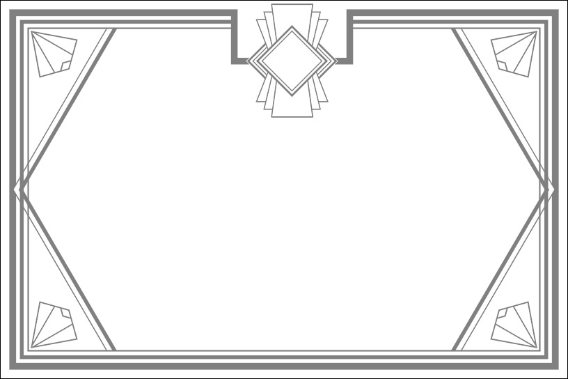 Art Deco Frame 2