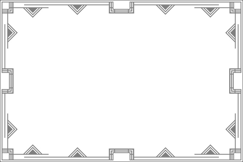 Art Deco Frame 4