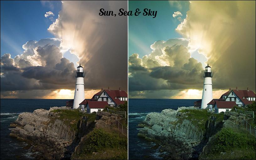 Sun, Sea & Sky