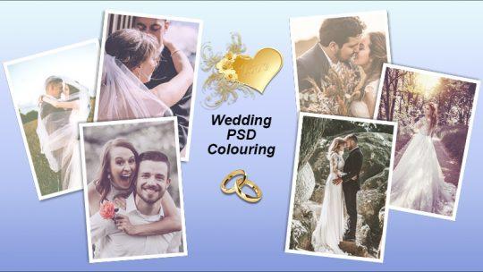Wedding PSD Colouring