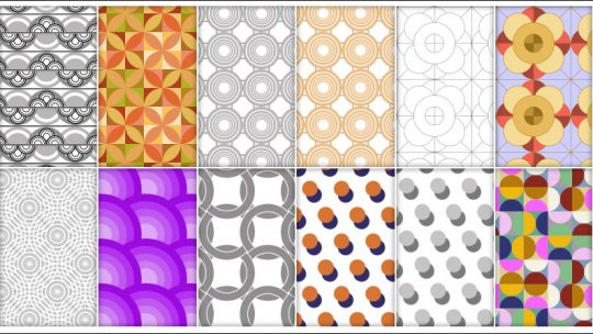 Circles Patterns for Photoshop